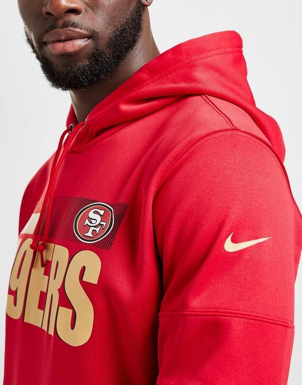 emoción responder congestión  Compra Nike sudadera NFL San Francisco 49ers Sideline en Rojo