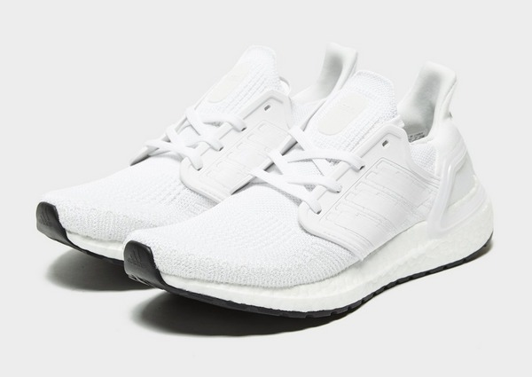 Køb adidas Ultra Boost 20 Herre i Hvid | JD Sports