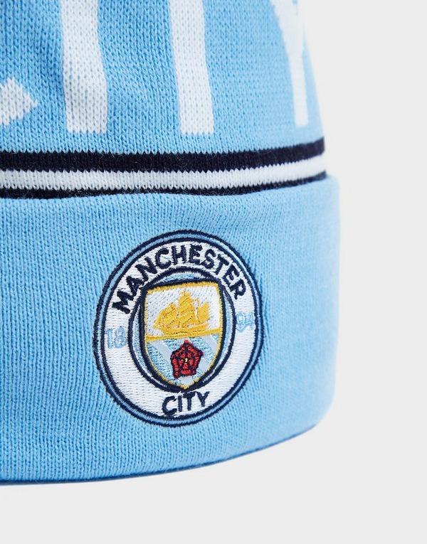 Puma Manchester City FC Pom Beanie Hat