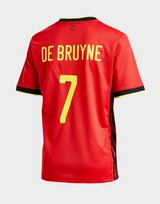 adidas Belgium 2020 Home #7 De Bruyne Shirt Junior
