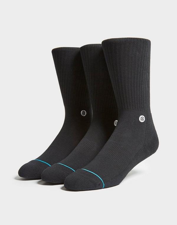 Stance 3 Pack Icon Socks
