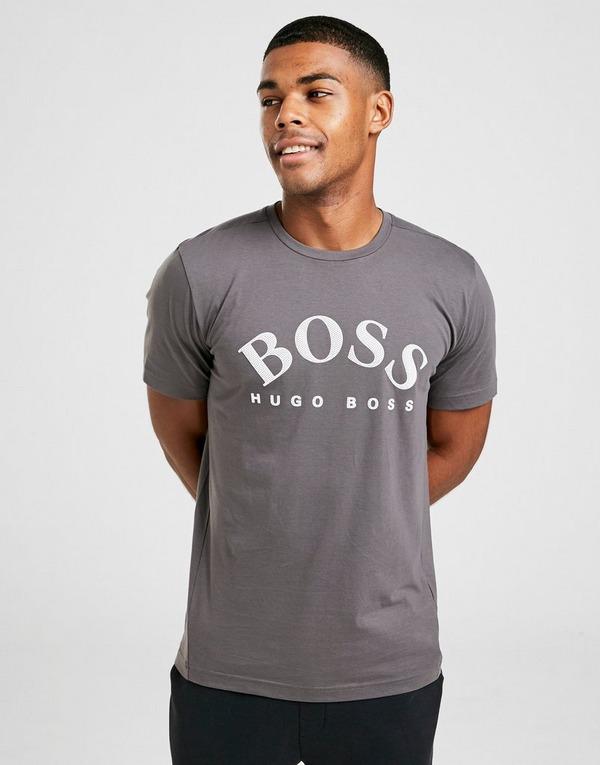 BOSS Curve Logo Short Sleeve T-Shirt