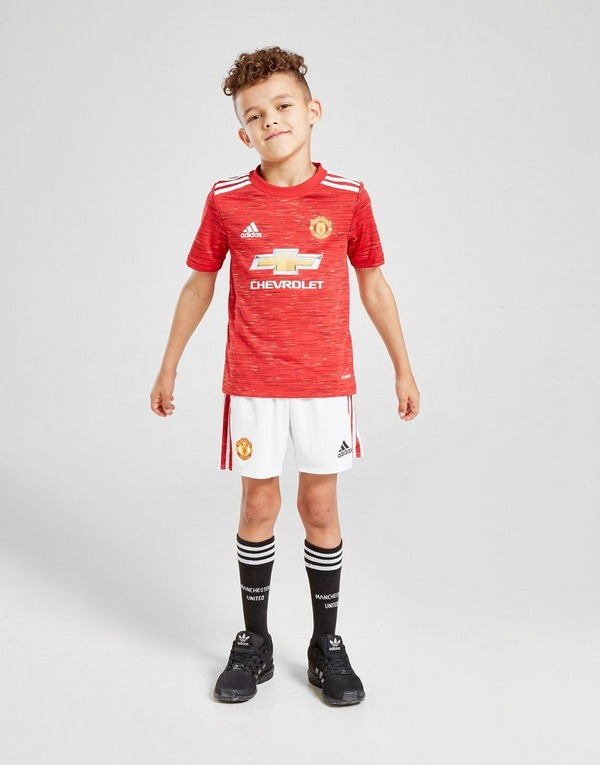 Buy Adidas Manchester United Fc 2020 21 Home Kit Children Jd Sports