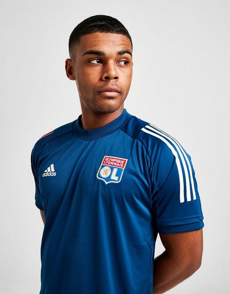 adidas Olympique Lyon Short Sleeve Training Shirt