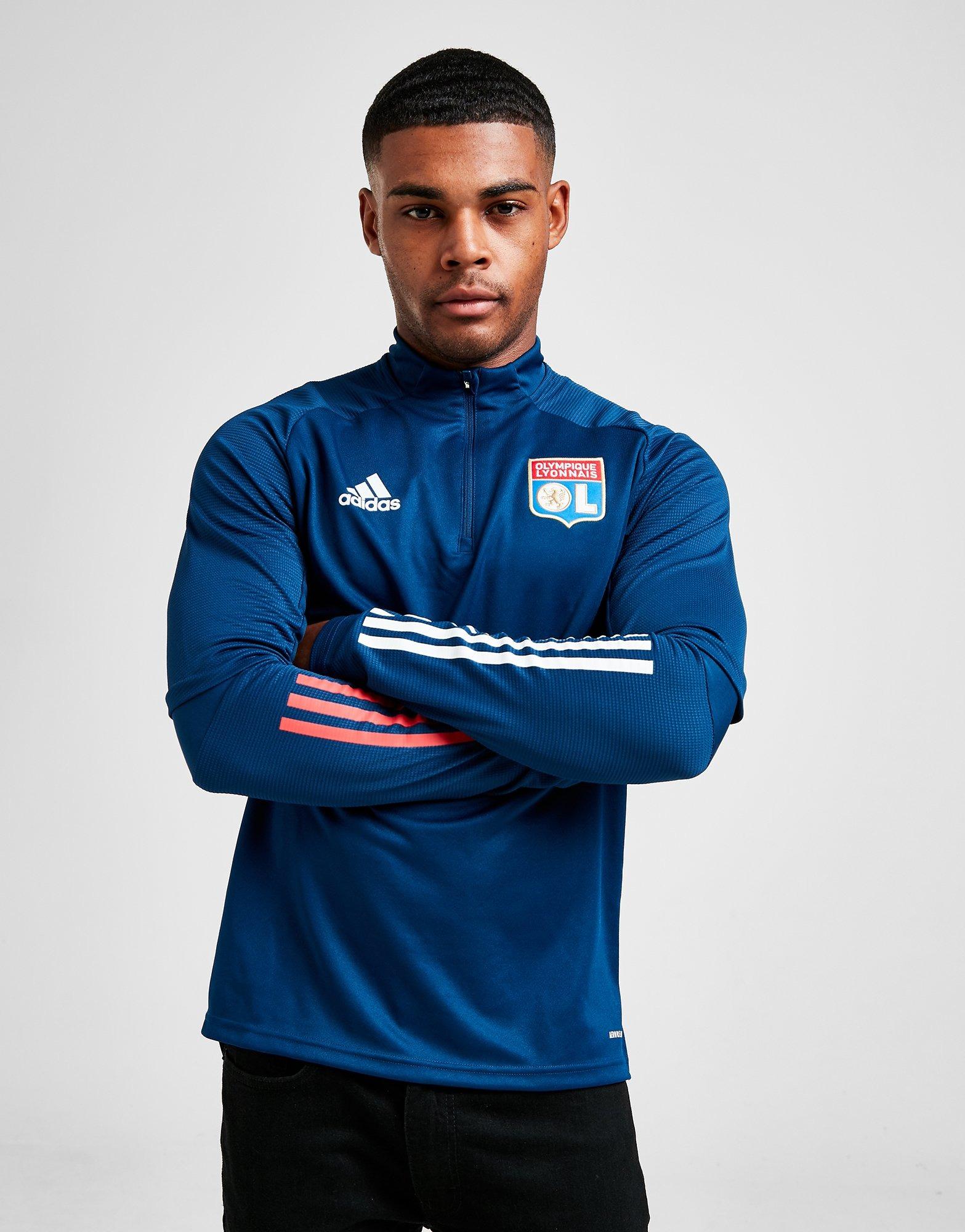 Útil Pef Izar  Buy adidas Olympique Lyon Training Top | JD Sports