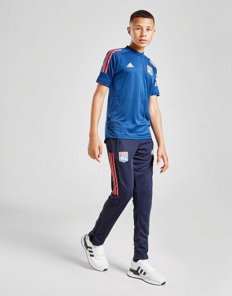 adidas Olympique Lyon Short Sleeve Training Shirt Junior