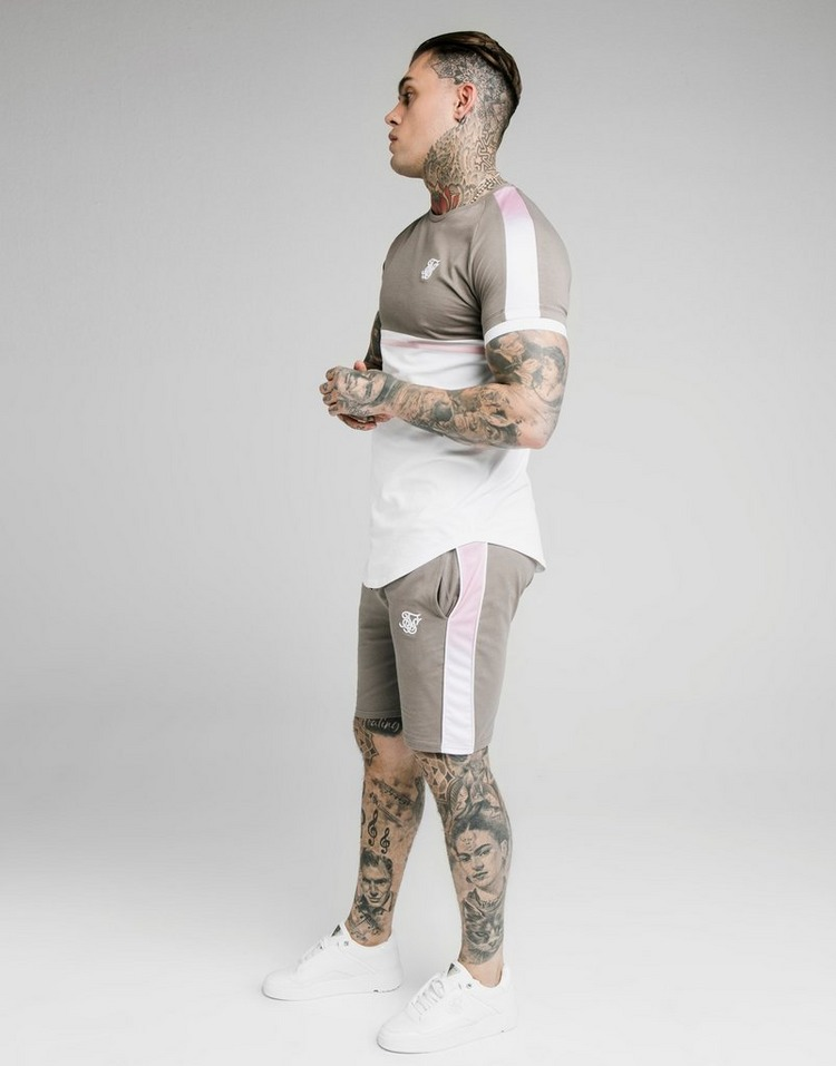 SikSilk Fade T-Shirt Men's