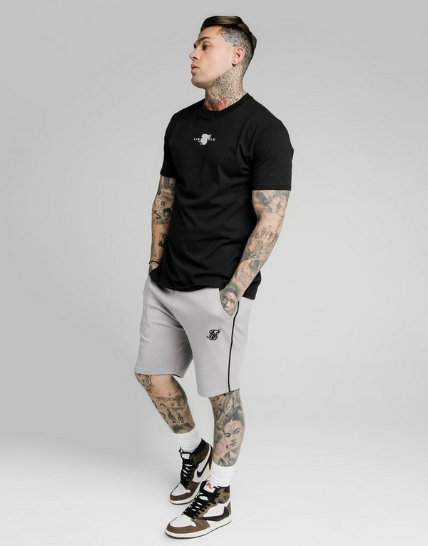 SikSilk Piped Poly Shorts