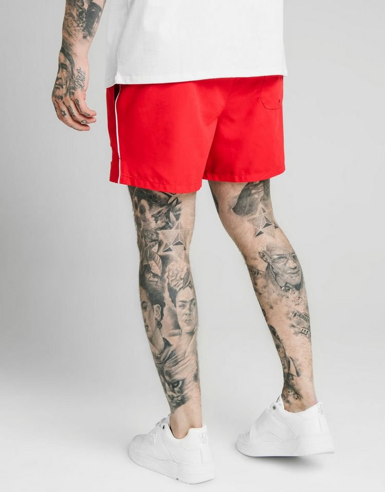 SikSilk Piping Swim Shorts Men's