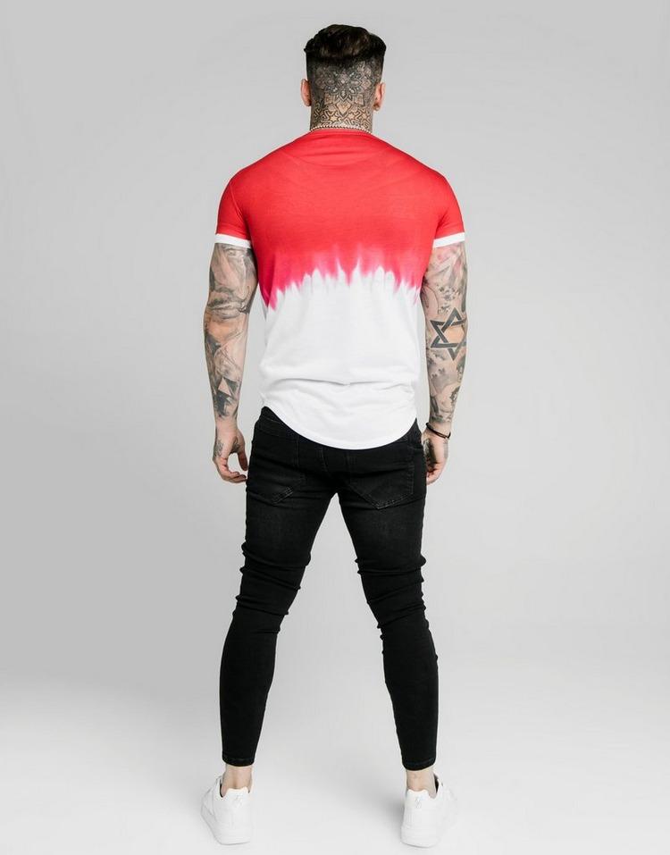 SikSilk Dip-Dye T-Shirt Men's