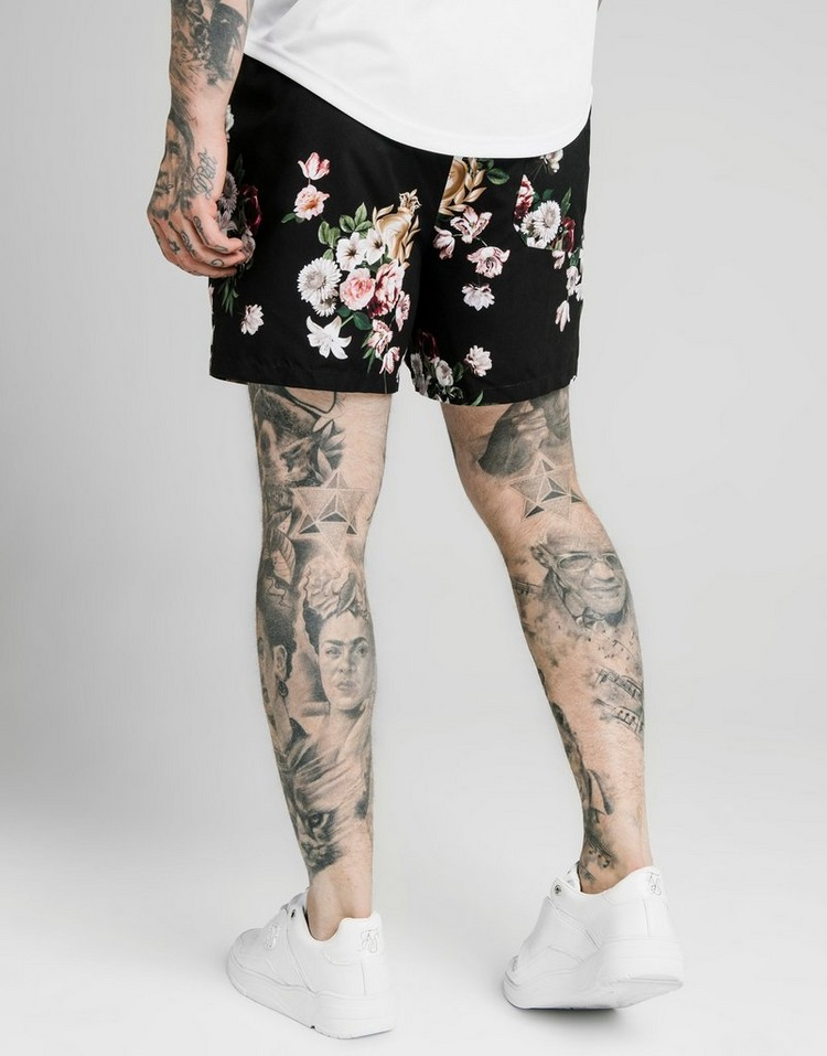 SikSilk Floral Swim Shorts