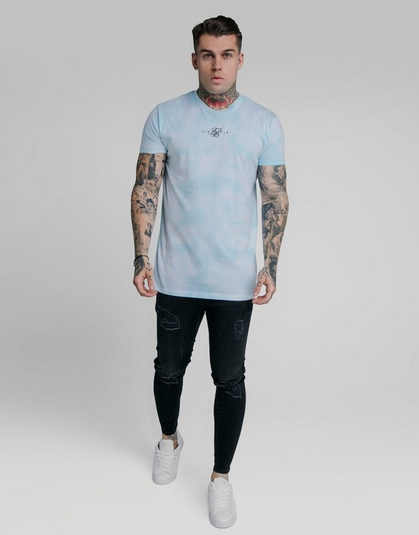 SikSilk camiseta Tie-Dye Regular
