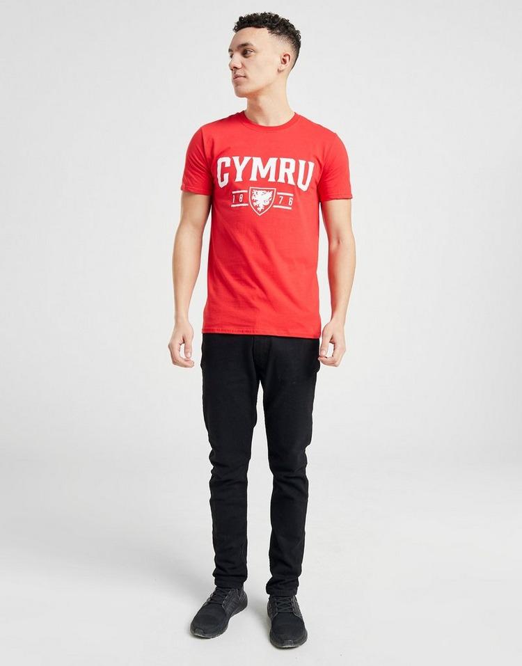 Official Team Wales Cymru Short Sleeve T-Shirt