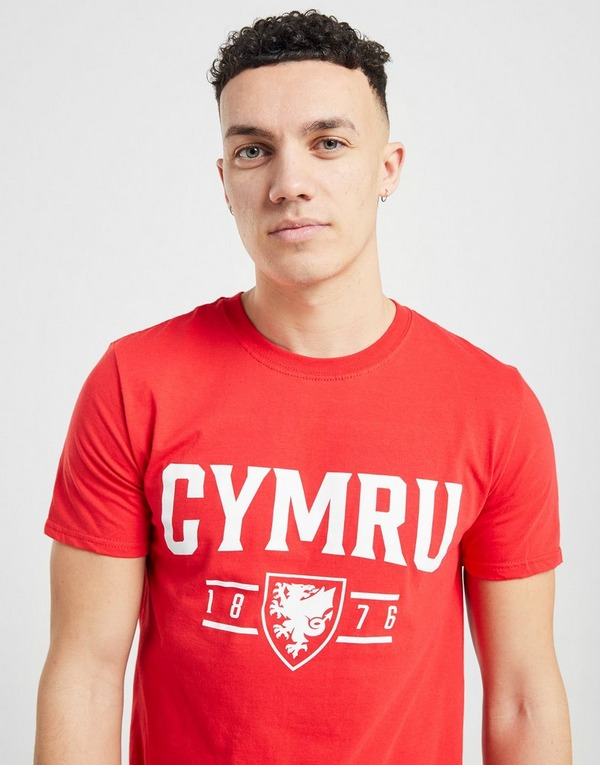 Official Team Wales Cymru Short Sleeve T-Shirt