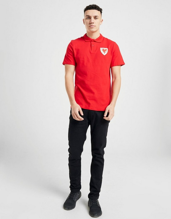Official Team Wales Polo Shirt
