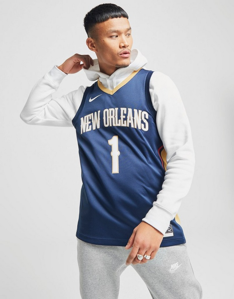 Nike NBA New Orleans Pelicans #1 Williamson SM Jersey
