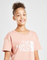 The North Face Girls' Cropped T-Shirt Junior