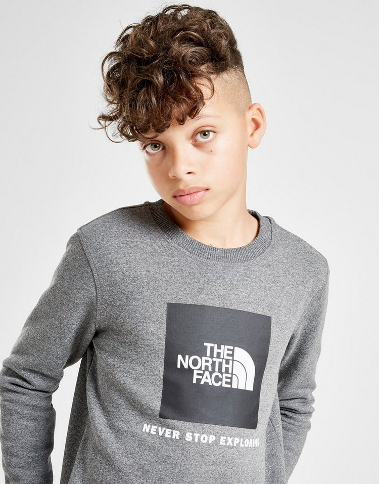 The North Face Box Crew Sweatshirt Junior