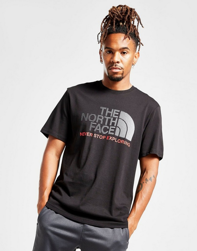 The North Face Gradient Large Logo T-Shirt