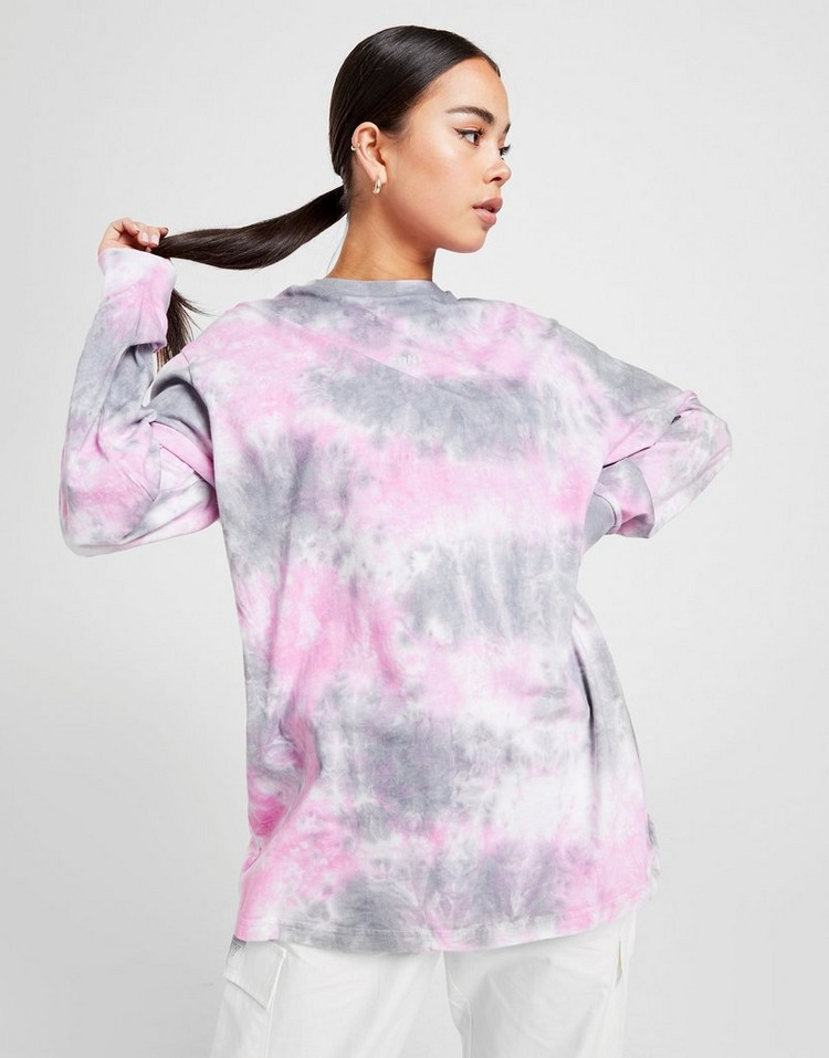 Supply & Demand Tie Dye Graphic Long Sleeve T-Shirt
