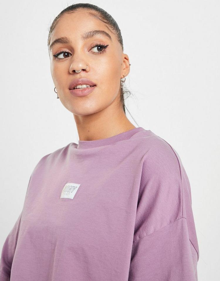 Supply & Demand Badge Crop T-Shirt
