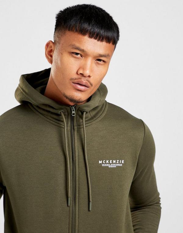 McKenzie Essential Zip Through Hoodie Men's