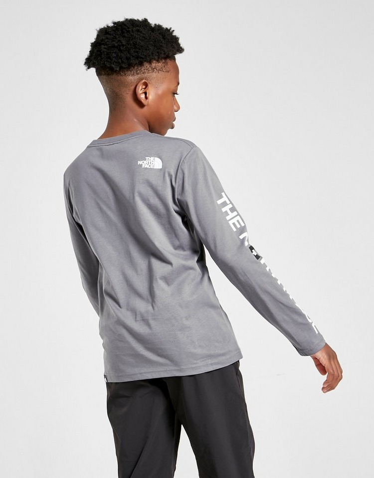 The North Face Sleeve Hit Long Sleeve T-Shirt Junior
