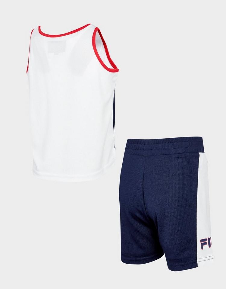 Fila conjunto Carter Mesh camiseta/pantalón corto para bebé