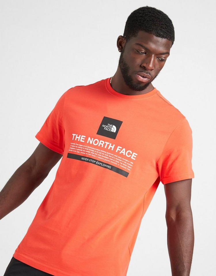 The North Face Short Sleeve Text T-Shirt