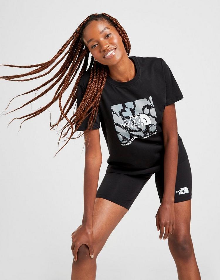 The North Face Leopard Graphic Boyfriend T-Shirt