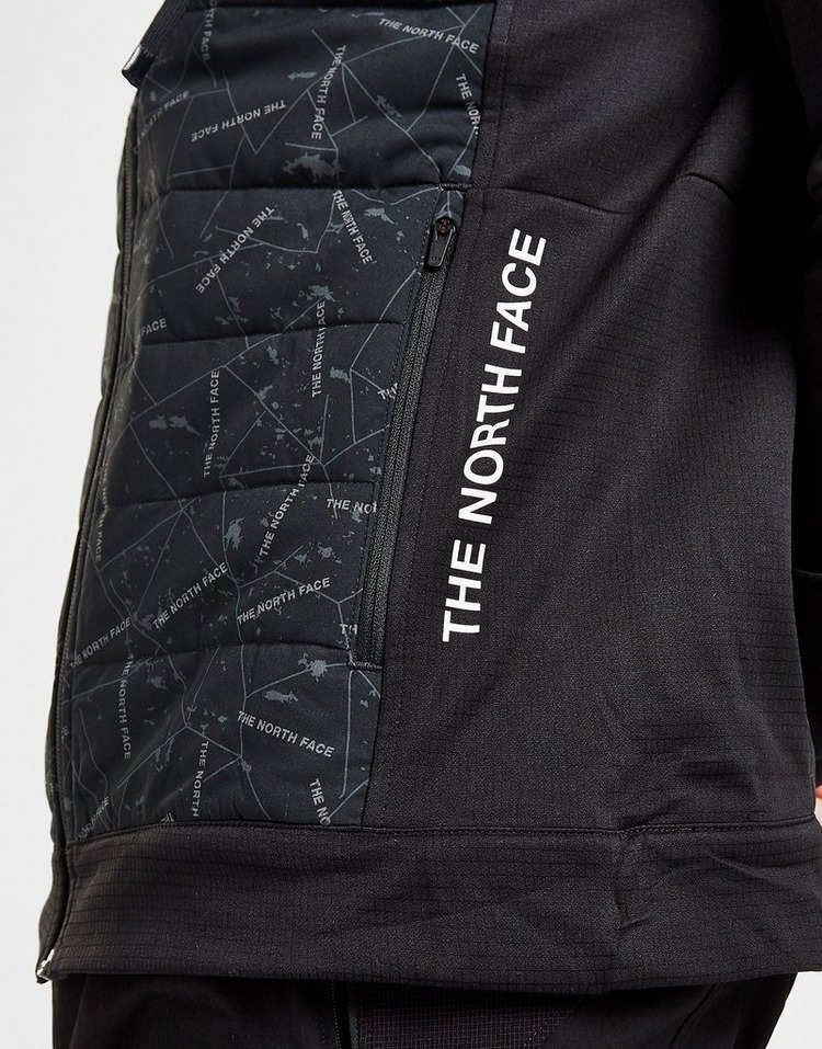 The North Face Train N Logo Hybrid Hooded Jacket