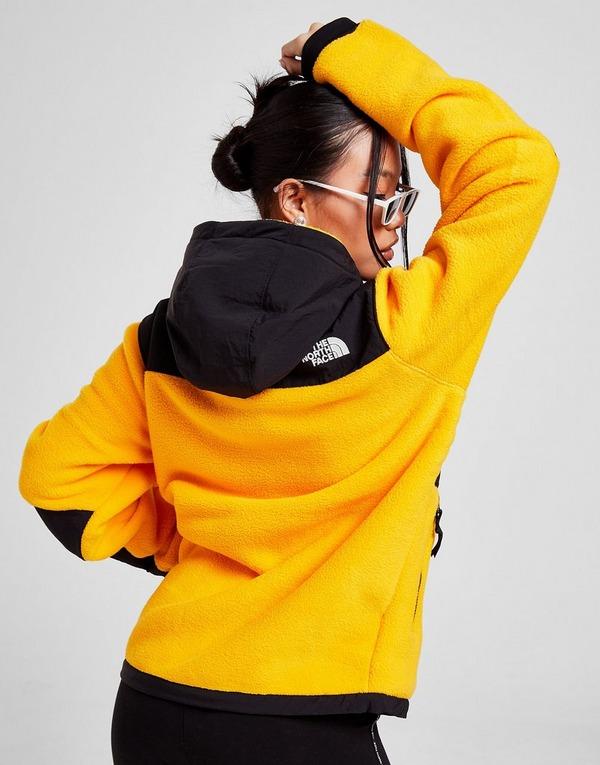 Buy Yellow The North Face Denali 1 4 Zip Fleece Hoodie Jd Sports