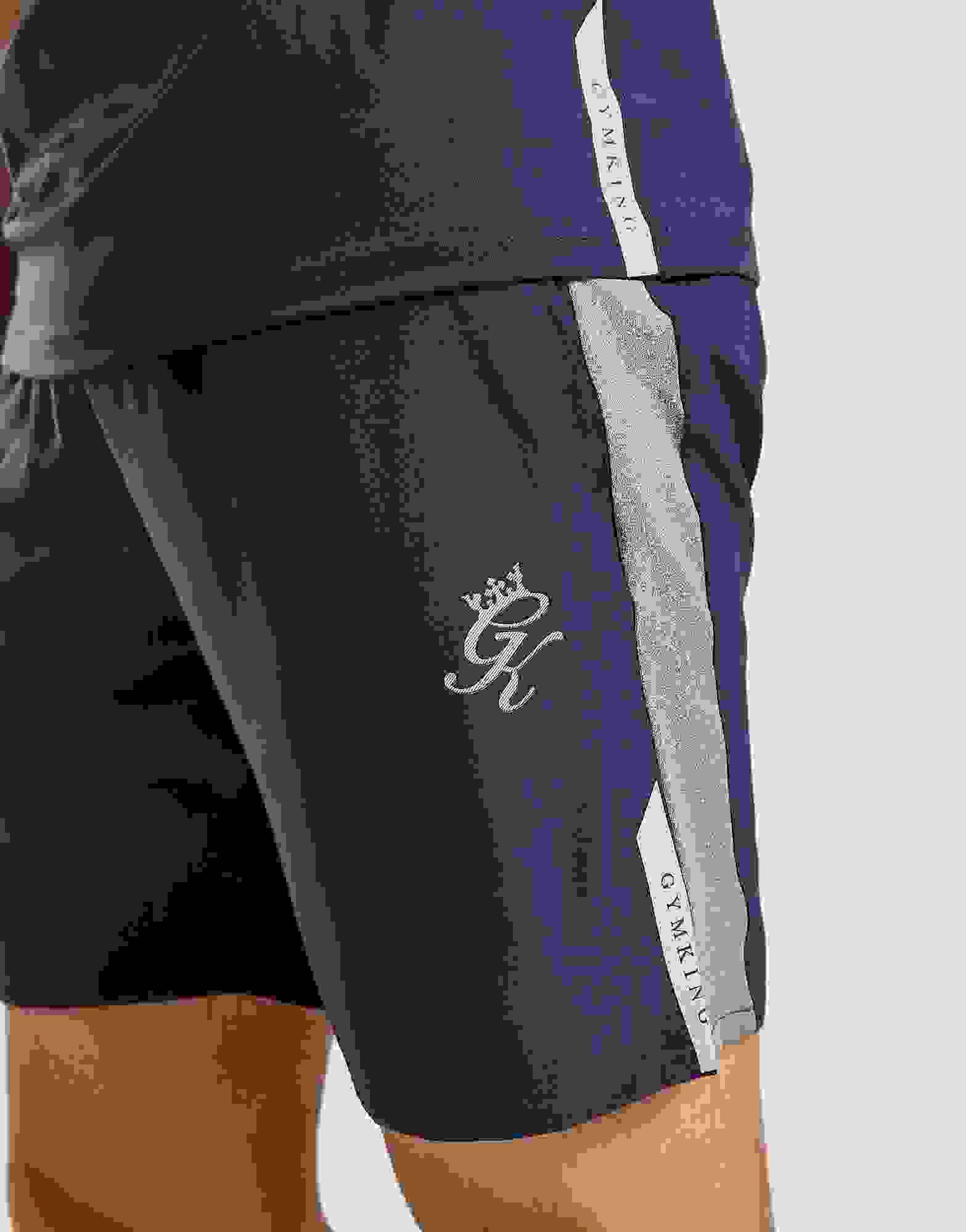 Gym King Core Active Woven Shorts Black F237S