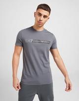 Emporio Armani EA7 7 Lines Reflective Large Logo T-Shirt