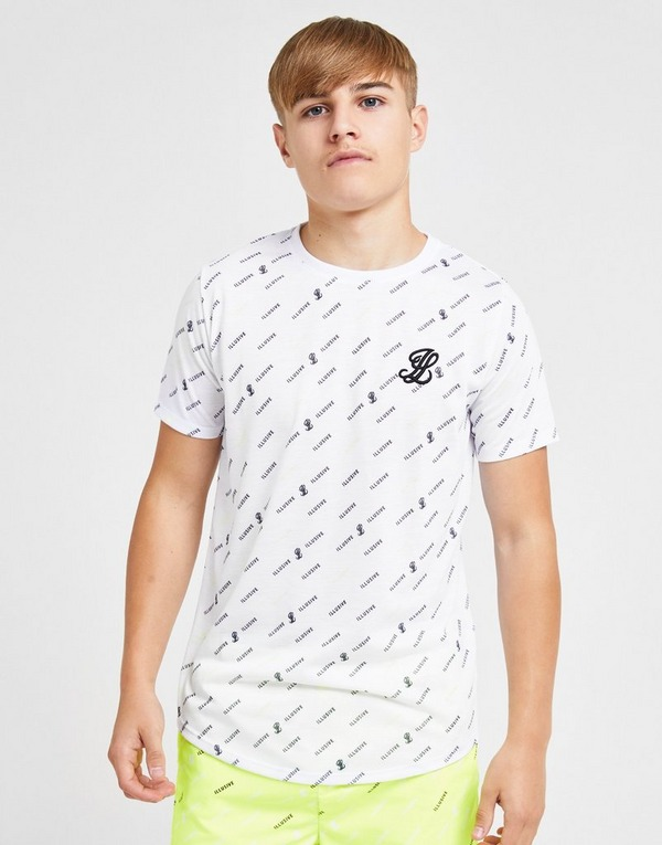 ILLUSIVE LONDON All Over Print T-Shirt Junior