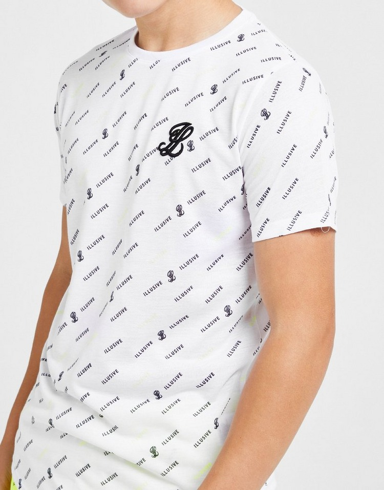 ILLUSIVE LONDON camiseta All Over Print júnior