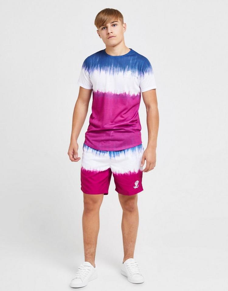 ILLUSIVE LONDON camiseta Tie Dye júnior