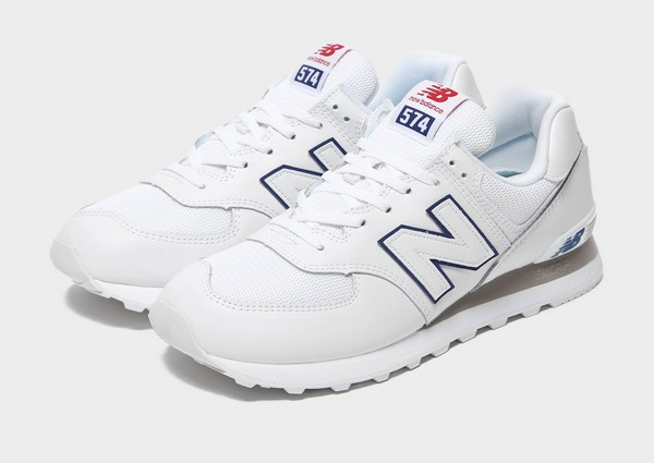 Shop den New Balance 574 Herren in White