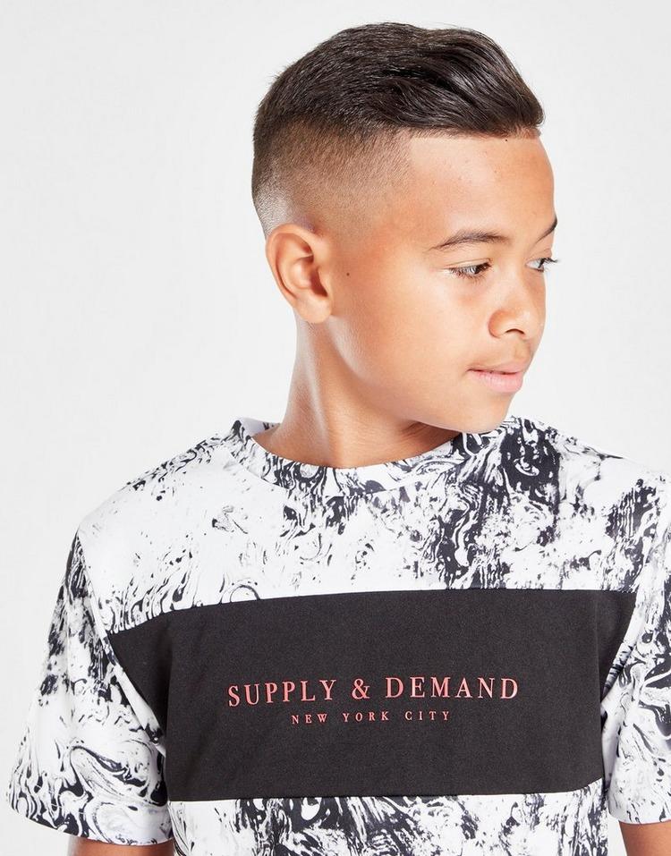 Supply & Demand Moon T-Shirt Junior