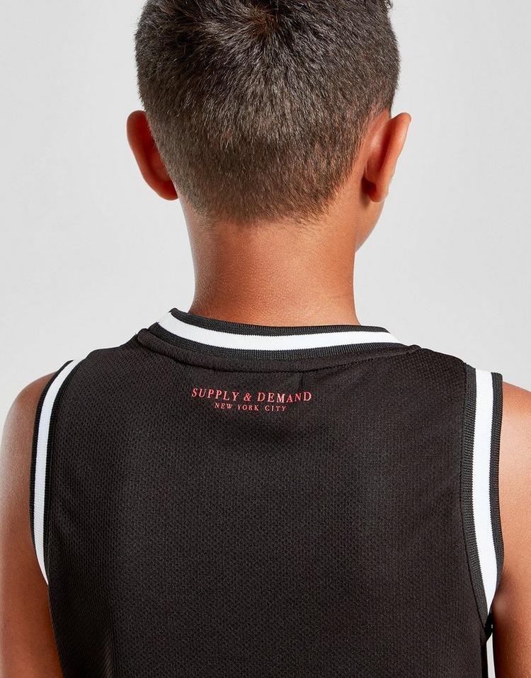 Supply & Demand Moon Basketball Vest Junior