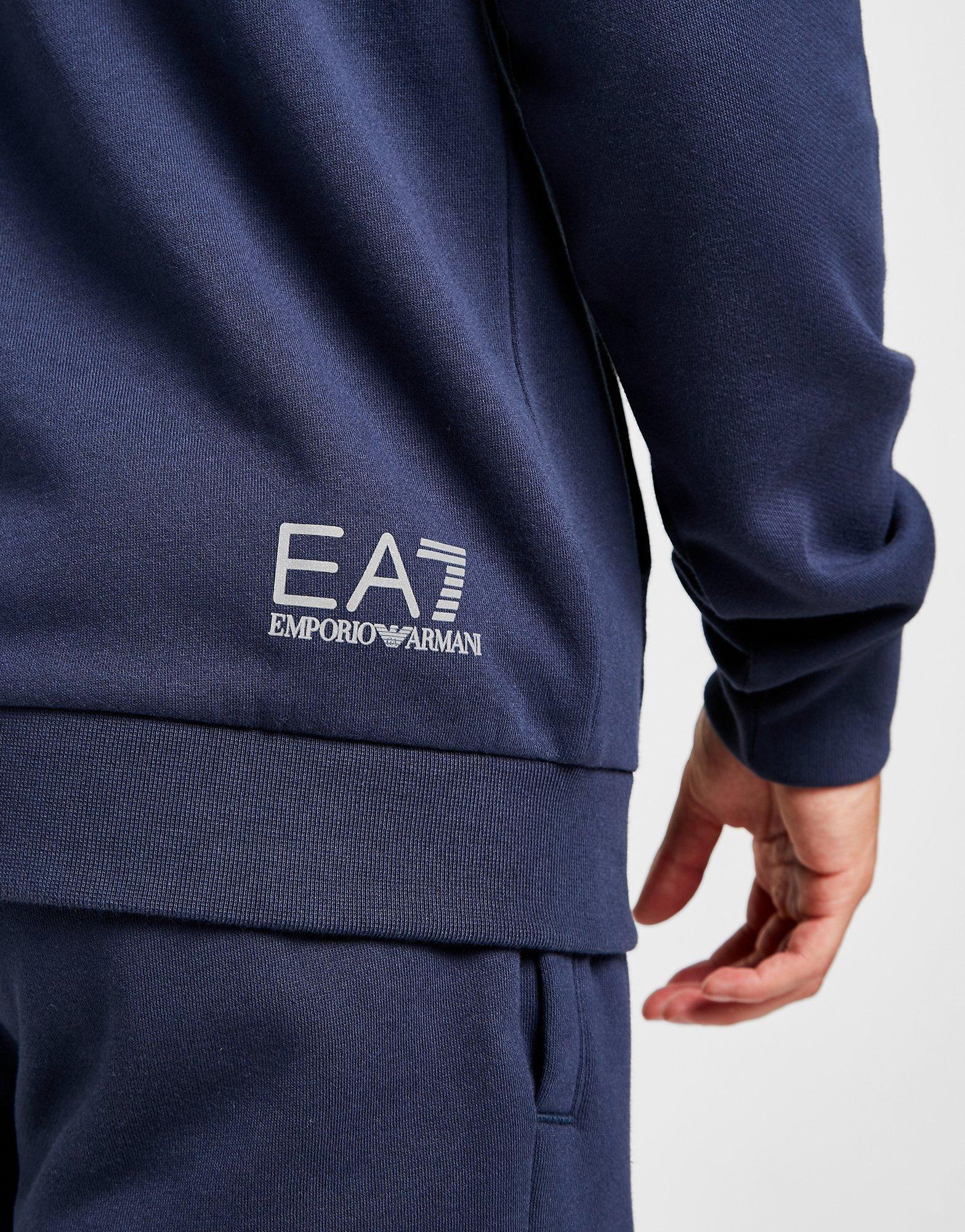 emporio armani ea7 raglan fleece suit