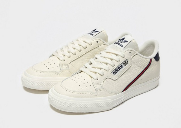 Shop den adidas Originals Continental 80 Vulc in White