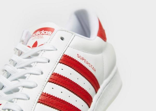 adidas superstar hommes blanche et rouge