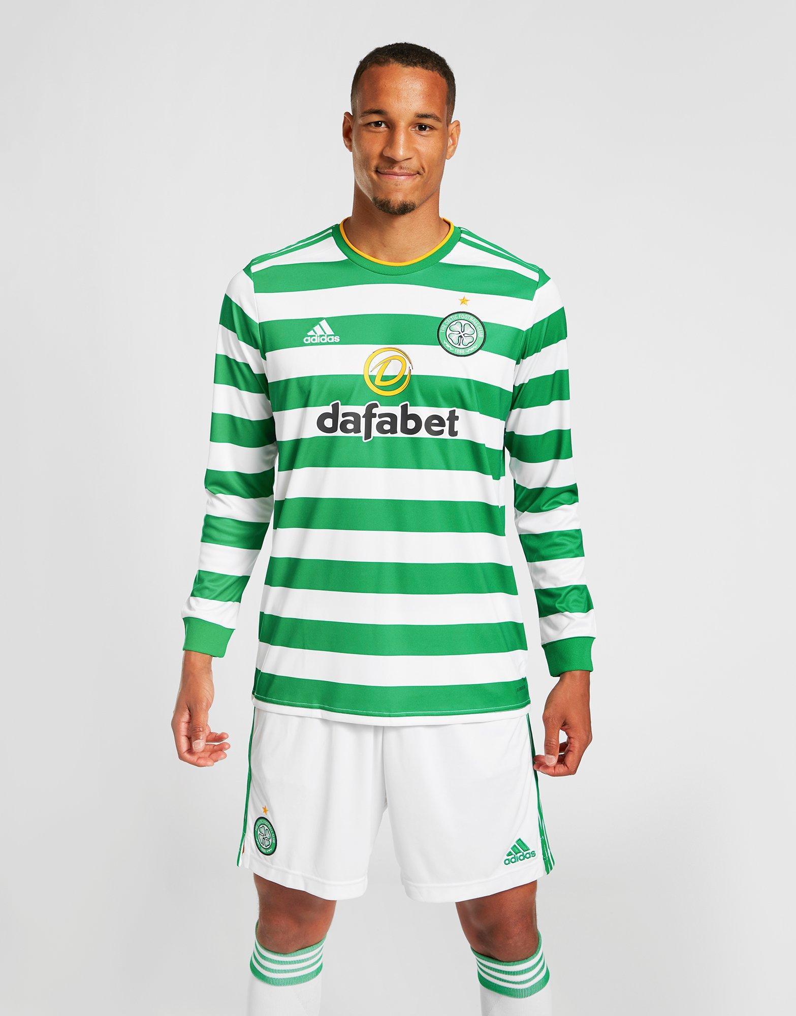 adidas Celtic FC 202021 Longsleeve Home Shirt Heren PRE ORDER