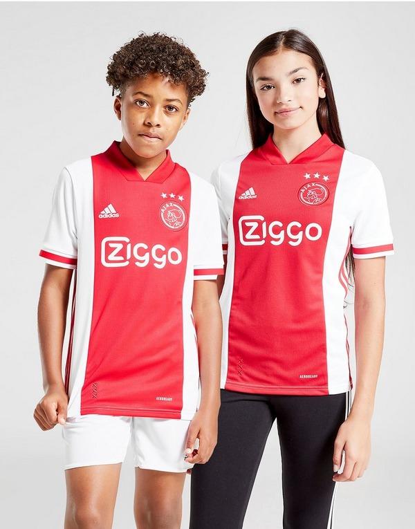 Buy White Adidas Ajax 2020 21 Home Shirt Junior