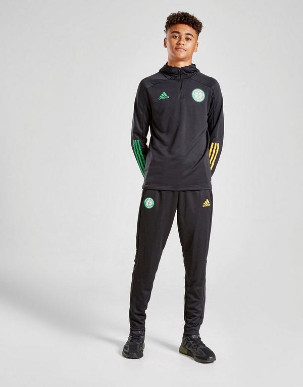 adidas Celtic FC Track Hoodie Junior