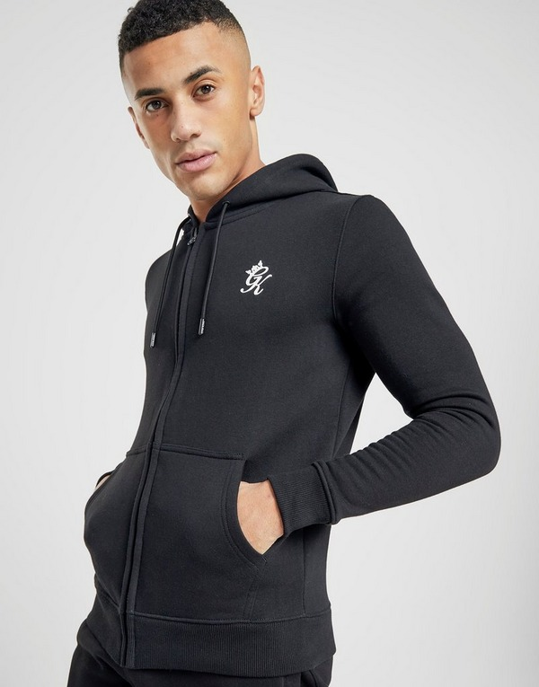 Gym King Zip Through Core Fleece Tracksuit