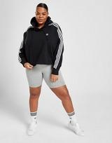 adidas Originals 3-Stripes Crop Plus Size Hoodie