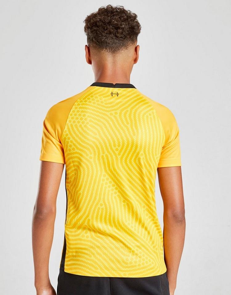 Nike Liverpoool FC 2020/21 Away Goalkeeper Shirt Junior