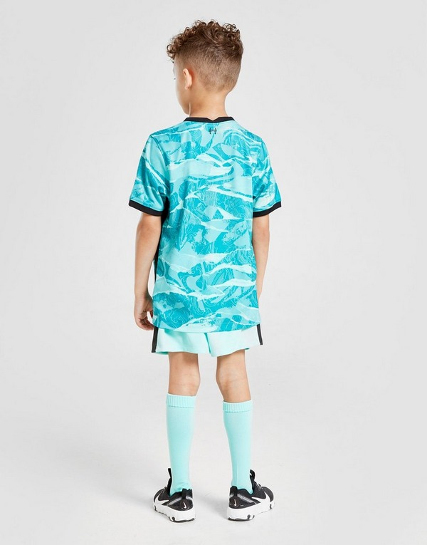 Nike Liverpool Fc 2020 21 Away Kit Children